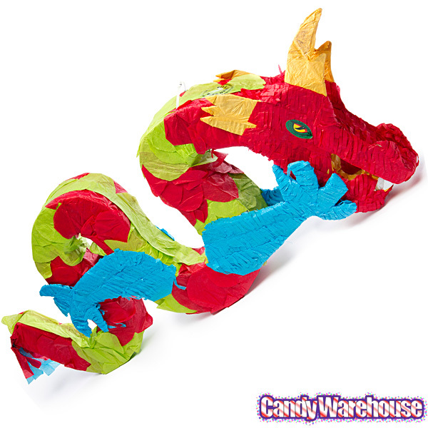 Chinese Dragon Piñata - Happy China Trading Co  | Souvenirs